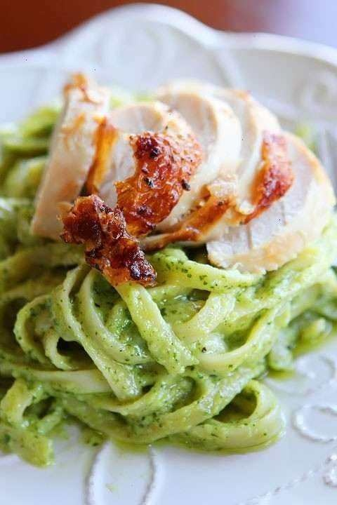 PESTO PASTA WITH ROTISSERIE CHICKEN | Food and drink Ideas! | Pintere ...