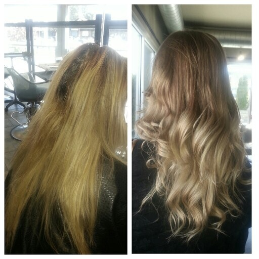 Beige ombre. | Hair I did | Pinterest