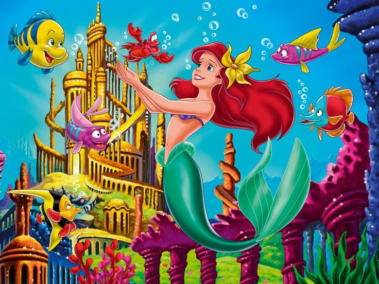 ariel becomes a sea - photo #12