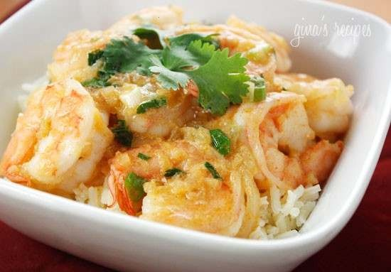 RED THAI COCONUT CURRY SHRIMP | Food and Recipes | Pinterest