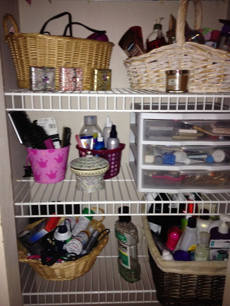 Bathroom Closet Organization Ideas Diy Bathroom
