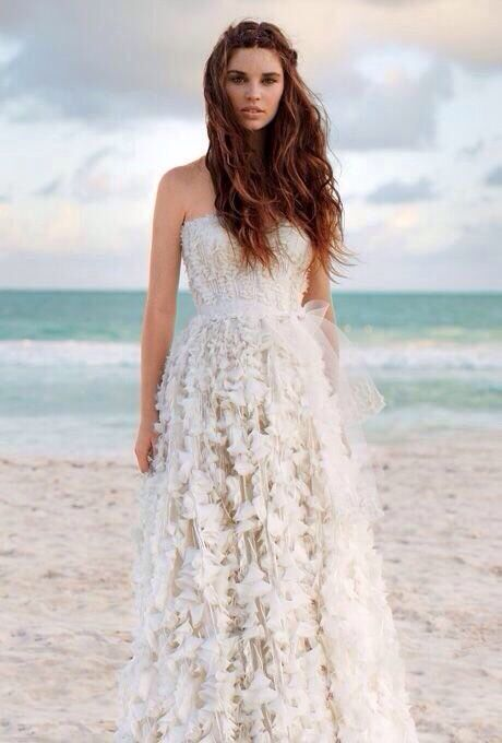 Renewal Wedding Dresses For The Beach : Perfect beach wedding dress vow renewal