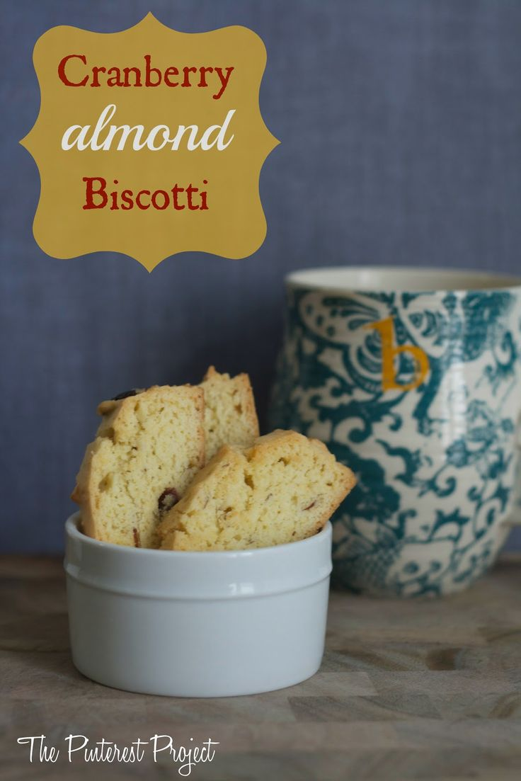 Cranberry Almond Biscotti | Teaparty | Pinterest