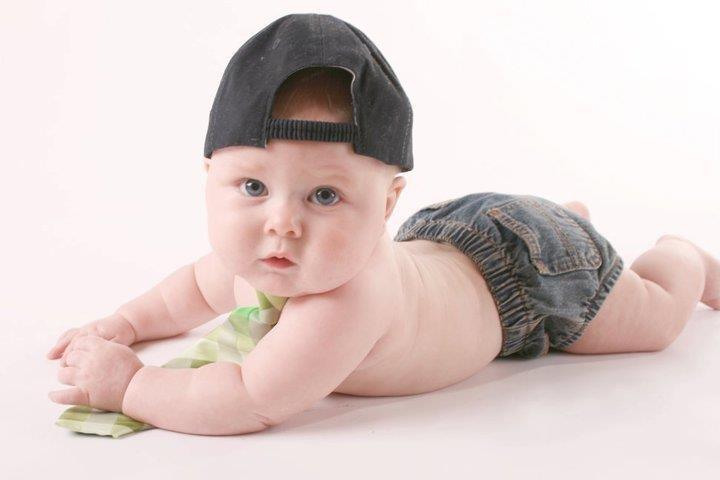 Chubby baby boy