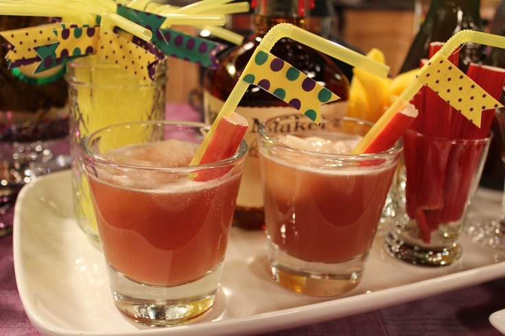 Bourbon Slush#mardigras #recipe #debililly #aperfectevent