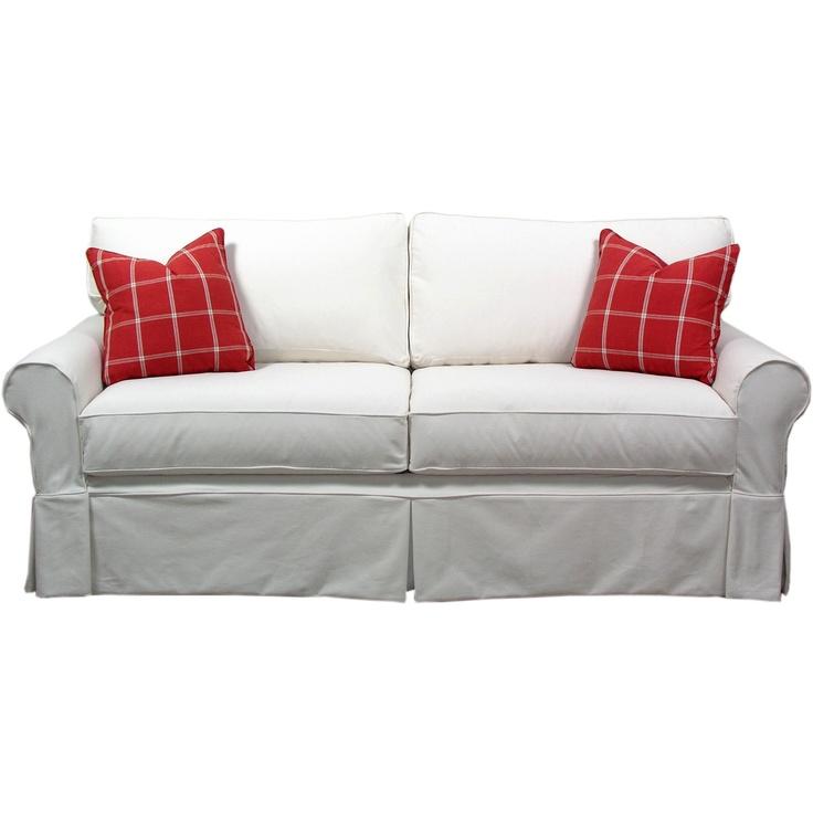 slip cover sofa at wayfair cabin pinterest. Black Bedroom Furniture Sets. Home Design Ideas