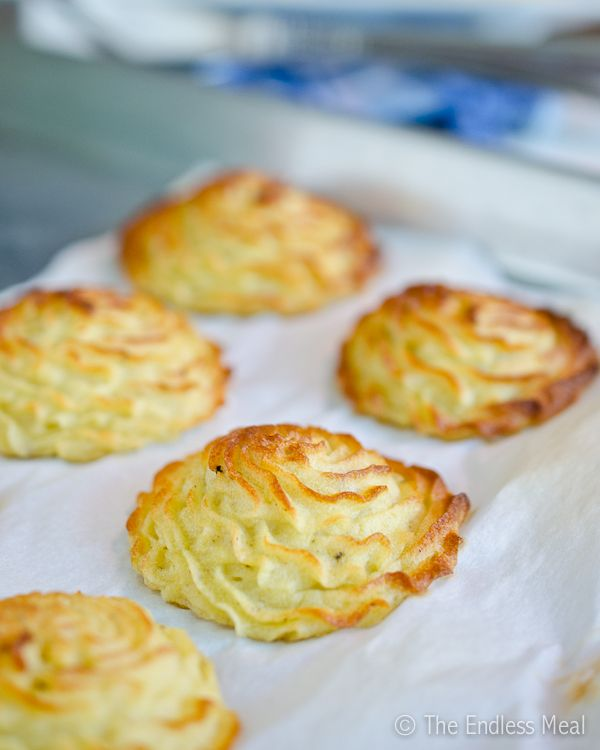 Duchess Potatoes | Recipes | Pinterest
