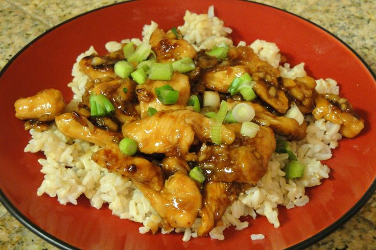 Ginger Chicken with Almonds | ASIAN RECIPES | Pinterest