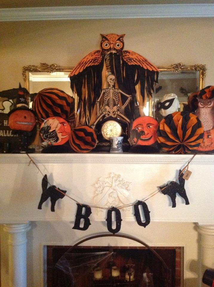 Vintage style halloween decorations vintage halloween for Antique halloween decoration
