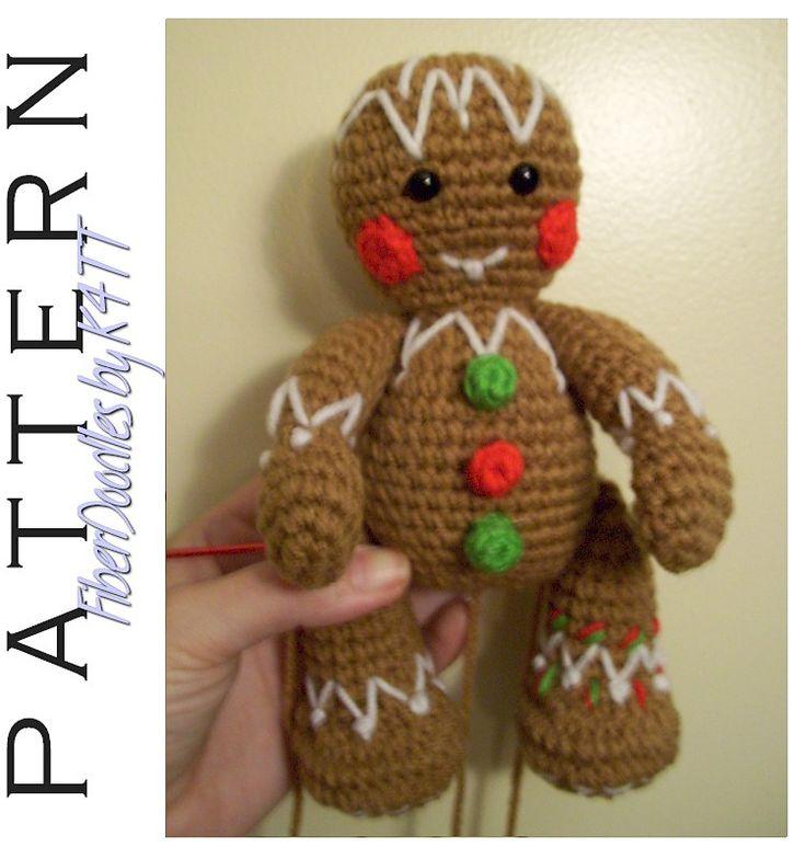 Ravelry: FREE PATTERN - Gingerbread Man pattern by K4TT