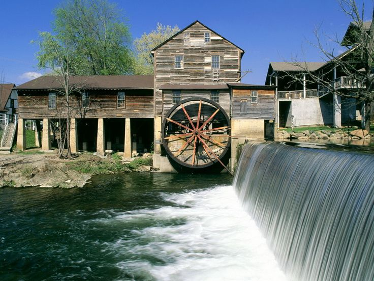 The Old Mill Pigeon Ford Tn Tennessee Trip Pinterest