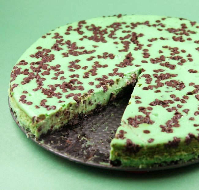 Pip & Ebby - Pip & Ebby - Mint chocolate chip cheesecake. Making this...