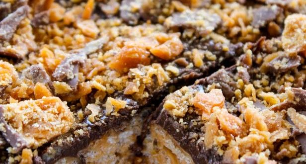 Butterfinger Rice Krispies Treats | Recipes | Pinterest