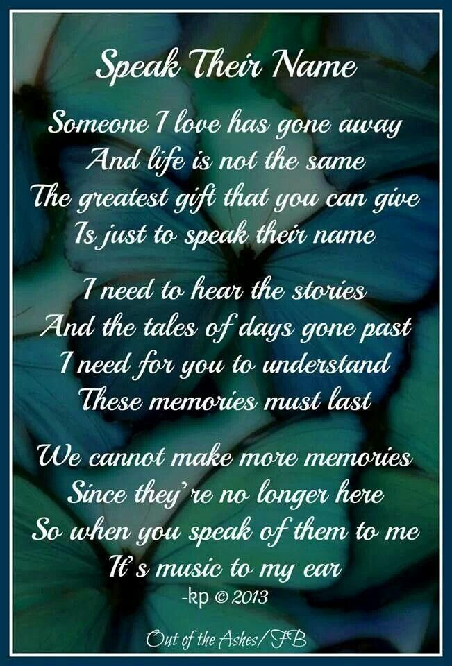 Losing A Loved One Poems And Quotes Images & Pictures - Becuo
