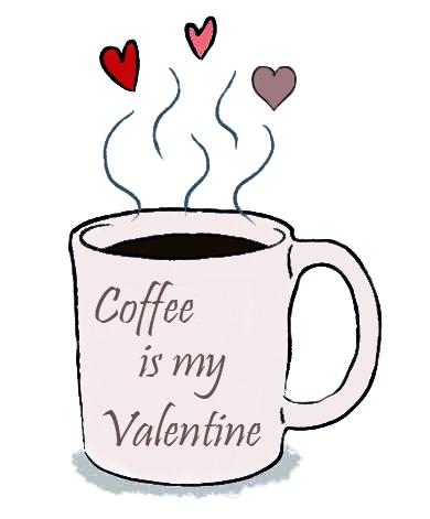 valentine day coffee