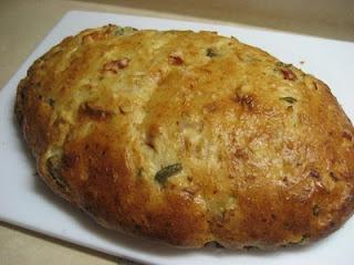 Sun Dried Tomato, Garlic Feta Bread | Bread Maker | Pinterest