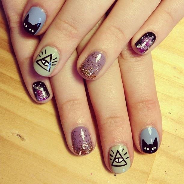 Trophy wife nail art on Facebook | Nail Art Design | Pinterest