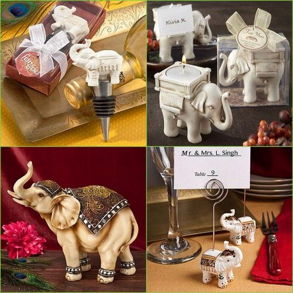 Elephant favors Winter Wedding Favors Pinterest