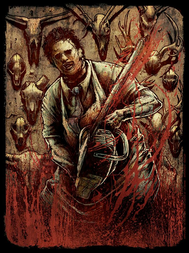Leatherface horror movie character