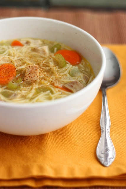Turkey Noodle Soup, and Homemade Stock | Time for Din Din! | Pinterest