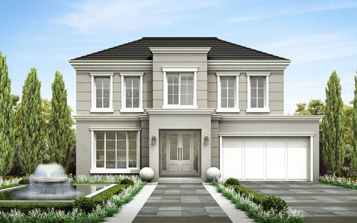 Somerset new home designs metricon french provincial for Metricon new home designs