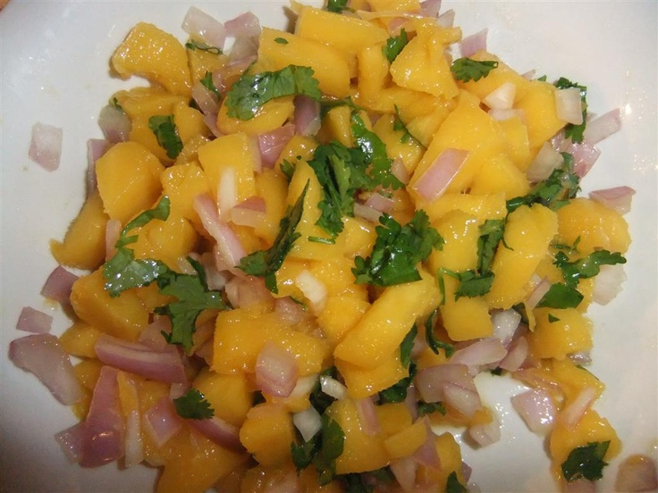 Mango Salsa | Apps/Tailgates/Coverdish | Pinterest