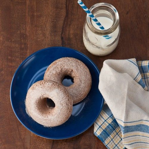 Apple Butter Maple Syrup Baked Doughnuts | Recipes! | Pinterest