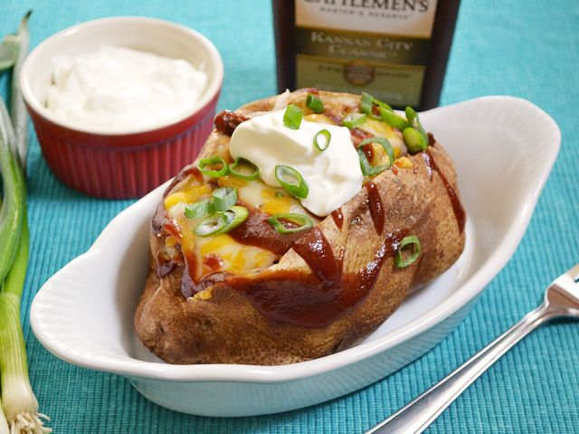 BBQ Beef Stuffed Potatoes - Budget Bytes