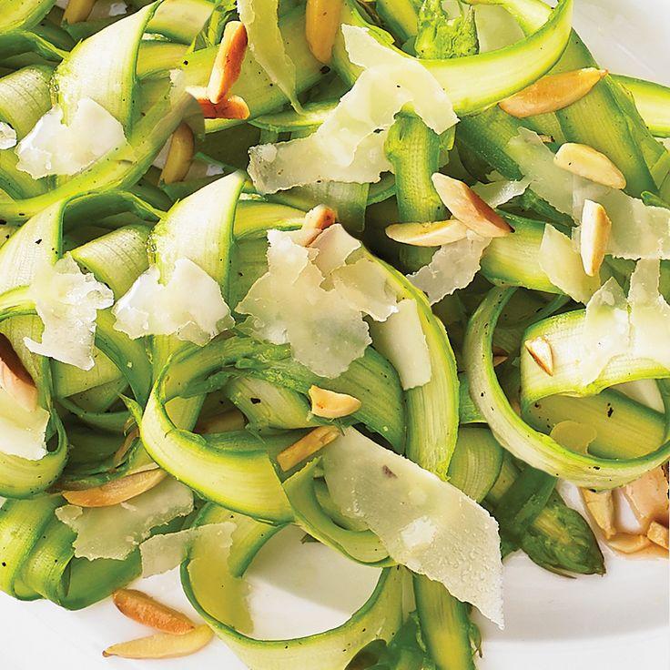 Shaved Asparagus Salad | Salads | Pinterest