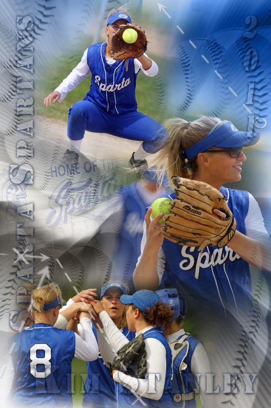 softball posters ideas
