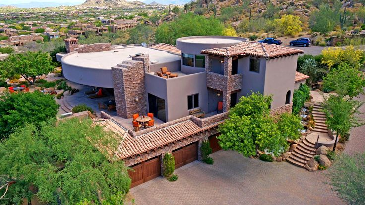 Luxury Home Magazine Arizona Luxury Homes Architecture Aerial