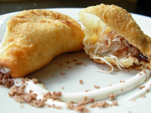 Coconut Cream Cheese Won Ton Desserts | Pie ~ Turnovers-Fruit Pockets ...