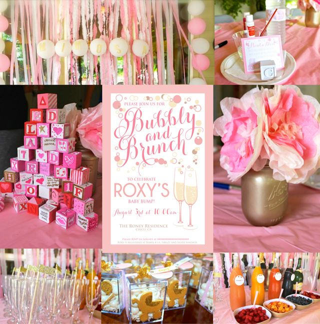 and brunch baby shower champagne themed shower diy bubbly shower