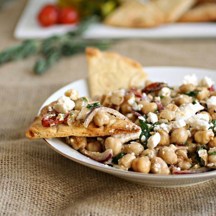Mediterranean Chickpea Salad | Recipe