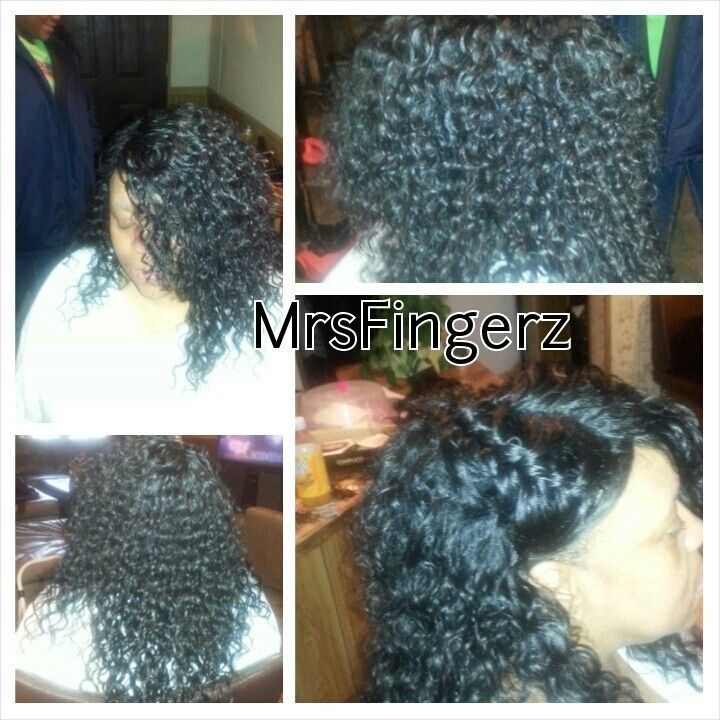 Bonded Quick Hair Weave 112
