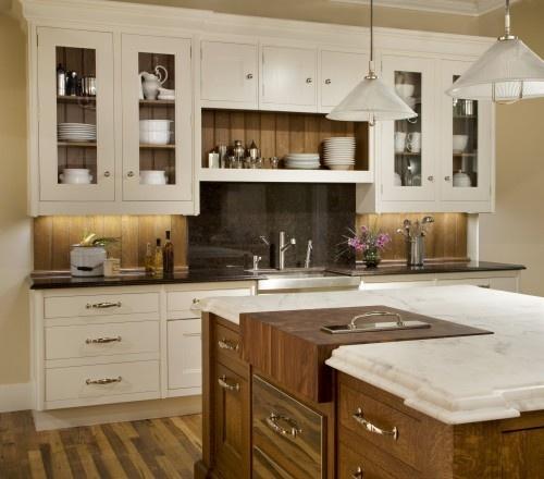 reclaimed wood backsplash kitchen inspiration pinterest