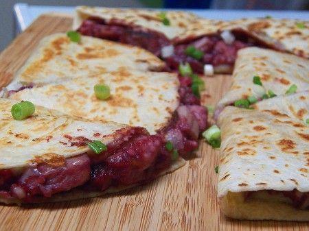 Cranberry Turkey Quesadillas | Recipes/food | Pinterest