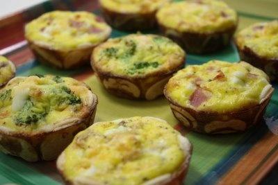 Quiche Bites | Food | Pinterest
