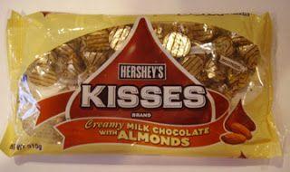 Creamy Milk Chocolate with Almonds   Hershey   Pinterest