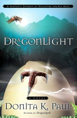 Donita K. Paul: DragonLight    Currently re-reading with my daughter.