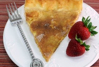 German Pancake Topped with Cinnamon and Sugar — Recipe from For the ...