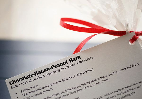 Chocolate Bacon Peanut Bark | Recipe