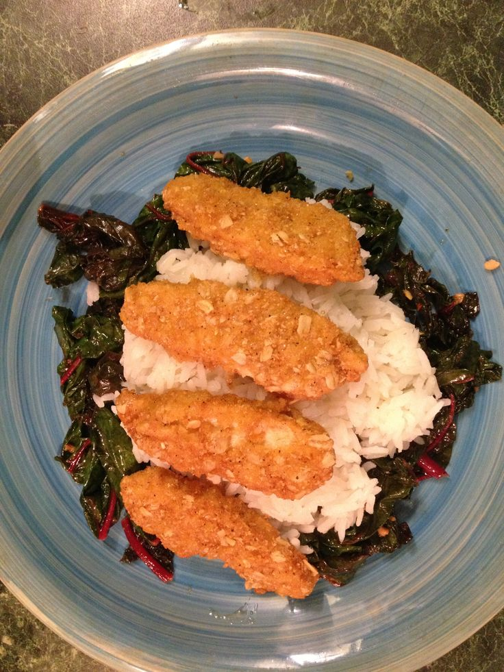 ... with 1 cup, Swiss Chard (steamed and finished with olive and herbs