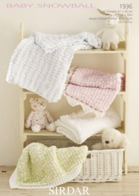 Sirdar baby snowball blanket patterns Knitting projects ...