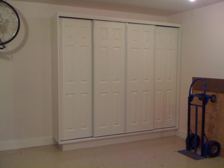 Sliding Door Sliding Door Garage Storage