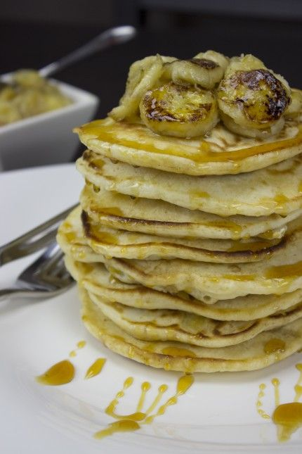 quick-and-easy-banana-pancakes | yummy | Pinterest