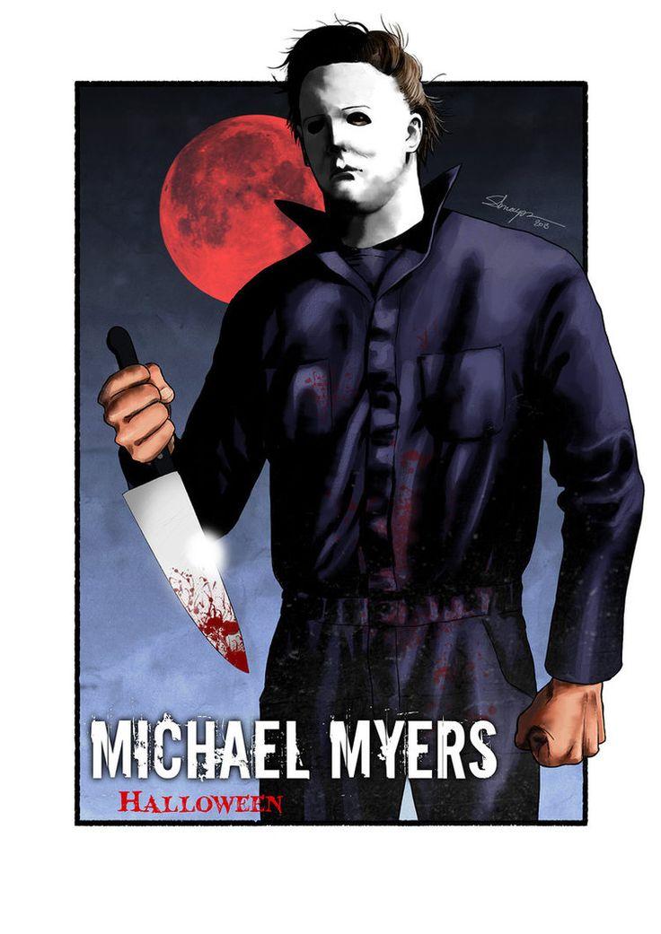 michael myers by sarakpn michael myers pinterest