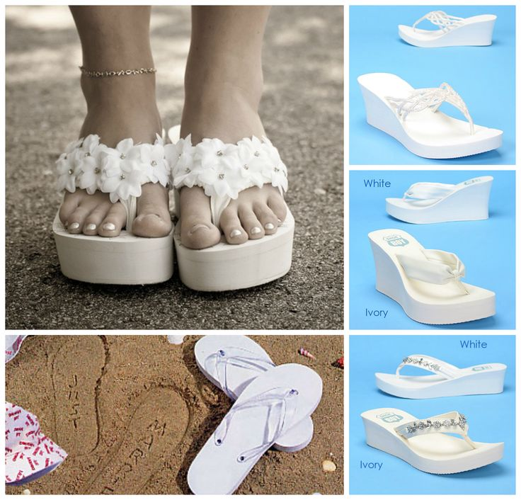 wedding flip flops for a beach wedding trend alert beach wedding