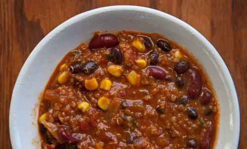 Quinoa Chili | Paleo, gluten-free, raw | Pinterest