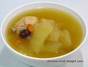 winter melon soup | Put it in my mouth | Pinterest